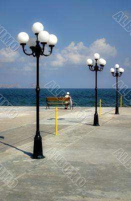 Expectation on a pier