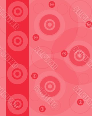 Pink blank with disks