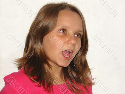 The singing girl