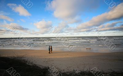 Coast of the Baltic sea