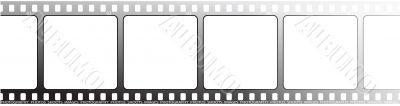 white film outline