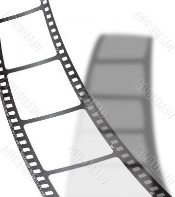 white film shadow