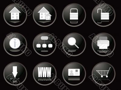 blackberry buttons web