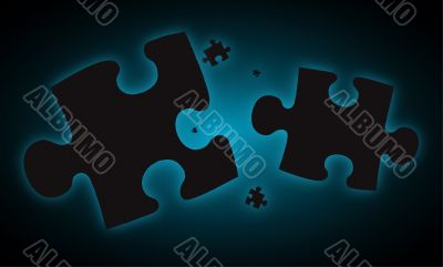 blue haze jigsaw pieces