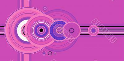 crop circle pink