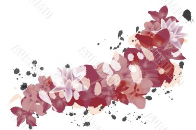 petal background red