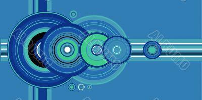 crop circle blue
