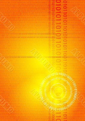 digital glow orange