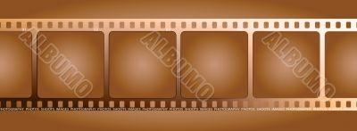 brown film outline