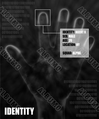 black identity info