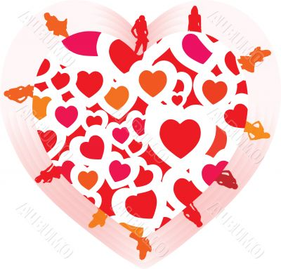 heart shape sexy