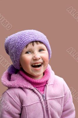 Happy laughing Masha