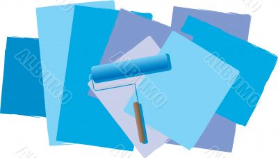 roller blue