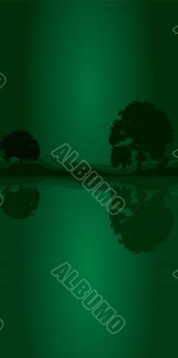tree green portrait