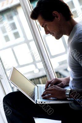 Study by the window