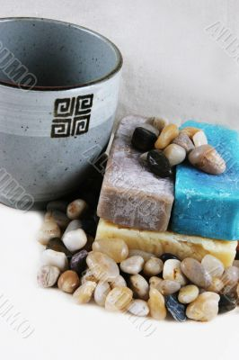 Soap and healing stones