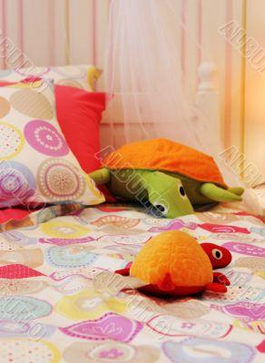 Cute child`s bedroom