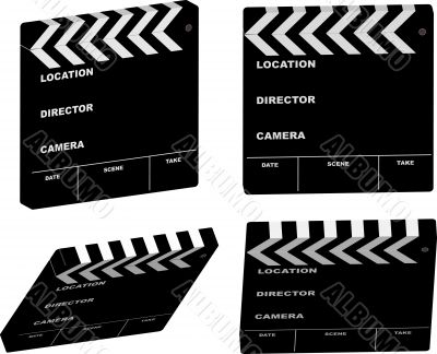 film clapper variation