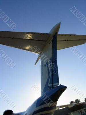 Aircraft tailfin