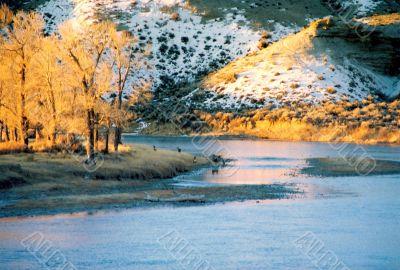 Wyoming early morning shot
