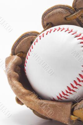 Baseball and Baseball Glove