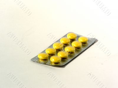 Packing of tablets