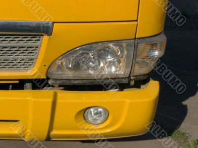 Wing, headlight