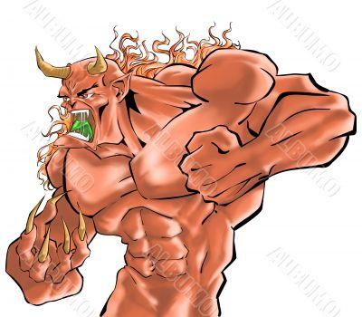 a demon fighter