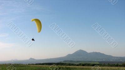 Landing after flight