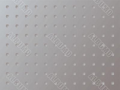 metal anti slip square