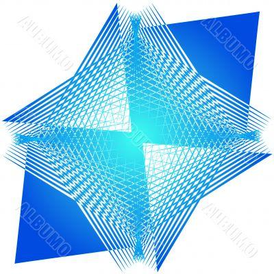 Abstract mesh design