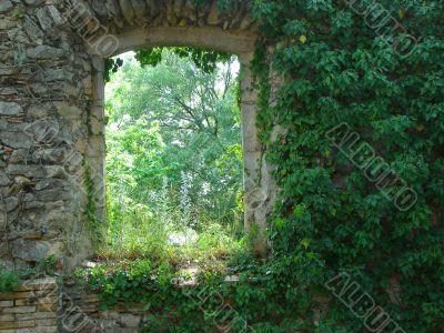 Antique ruins.