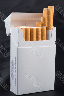 a pack of generic cigarettes
