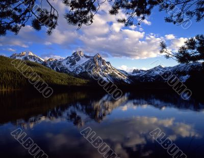 Mt. McGown & Lake