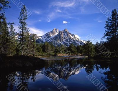Mt McGown Reflection