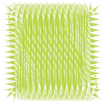 Green mesh pattern