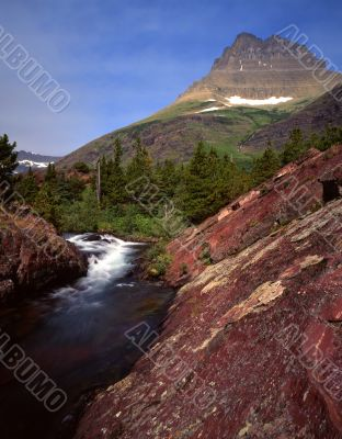 Red Rock Waterfall (V)