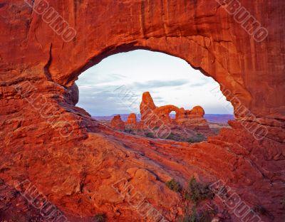 Window & Turret  Arches