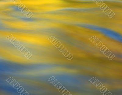 Yellow & Blue Water