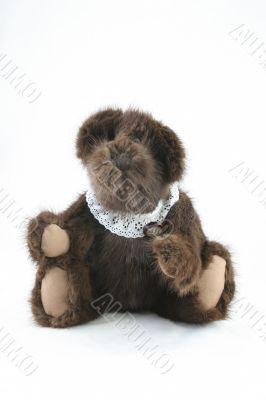 Antique brown teddy bear