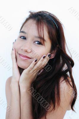 Confident teenager portrait