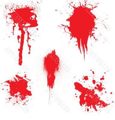 blood dribble