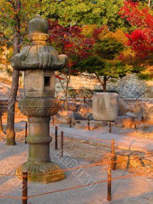 Japanese autmun twilight