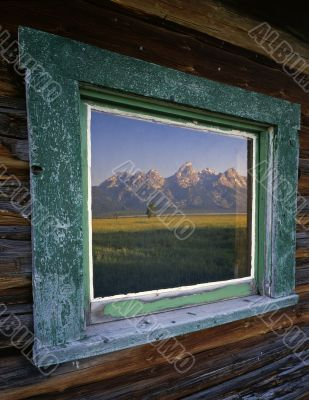 Tetons & Window