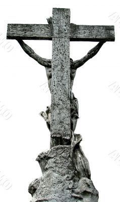Jesus Christ crucified on cross