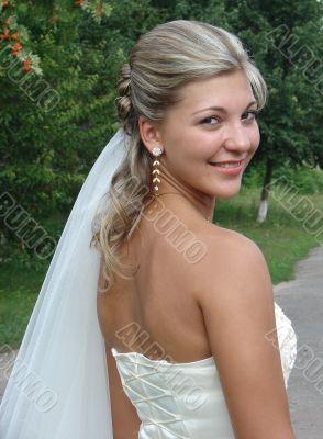 Young nice bride