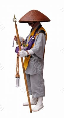 Buddhist pilgrim