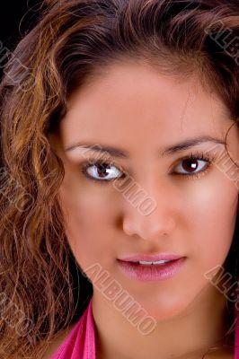 Latin girl close-up