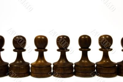 Black Pawn Chain