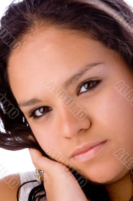 Beautiful pudgy latin girl